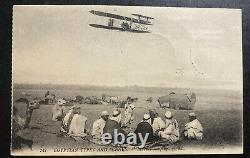 1910 Heliopolis Egypt Real picture Postcard Cover To Alexandria Bedouin camp