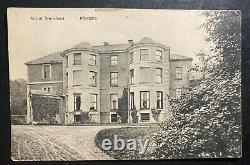1921 Dublin Ireland Real Picture Postcard Cover To England Mt Trenchard View