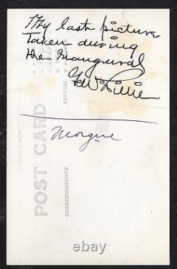 1930 PAWNEE BILL, Western Cowboy Icon Autographed Real Photo Postcard