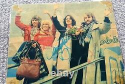 ABBA genuine signed postcards & picture