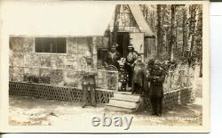 C. 1915 Governor M. Frances Of Penobscot American Indian Real Photo Post Card
