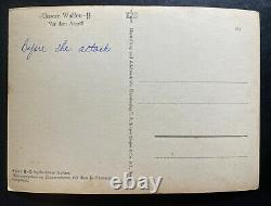 Mint Germany Real Picture Postcard Cover RPPC Waffen SS Before The Attack
