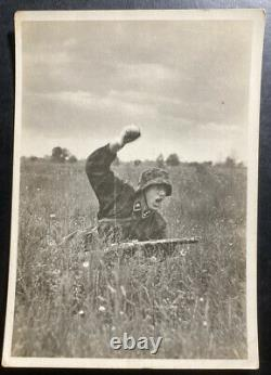 Mint Germany Real Picture Postcard Cover Waffen SS Police Follow Me