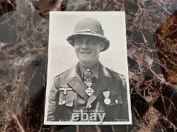 Mint Germany Real Picture RPPC Postcard Wehrmacht FieldMarshall Erwin Rommel