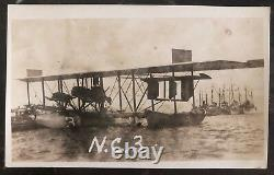 Mint USA Real Picture Postcard RPPC Flying Boat The Curtiss NC 3 Transatlantic B