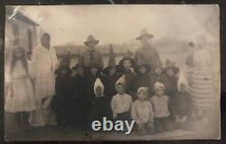 Mint USA Real Picture Postcard RPPC Vintage Halloween Costumes Childrens