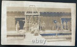 Mint Usa Real Picture Postcard WWI Negro Quarter Master Division Army