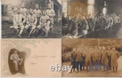 PEOPLE REAL PHOTO incl. MILITARY 500 Vintage Postcards mostly pre-1940