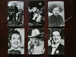 Pedro Infante Mexican Actor Singer Huge lot of 44 dif Real Photo Postcards htf