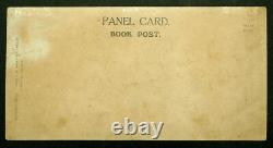 RMS LUSITANIA Real Photo CUNARD Book Post GIANT PANEL CARD Postcard by DAVIDSON