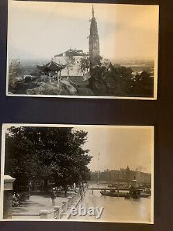 Real Picture Postcars From Hangchow China 1920s