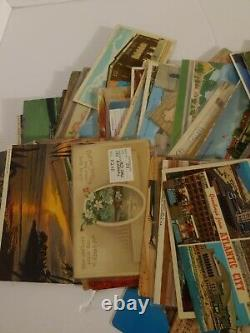 VTG 500 Postcard Lot Real Photo Airbrushed Holiday Christmas Antique Wildlife
