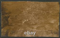 Ww1 1917 Turkey Germany Palestine View Of Jerusalem From The Air Real Photo